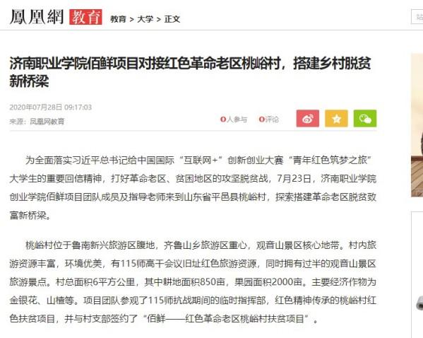 凤凰教育网站发稿文章页